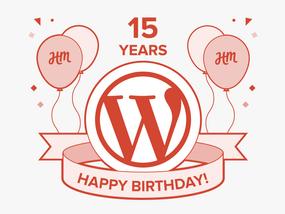 Happy 15th Birthday, WordPress