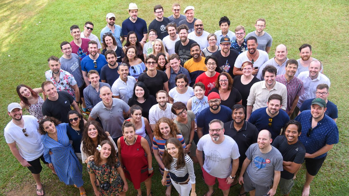 The Human Made Team at our annual company retreat in Sri Lanka, 2019