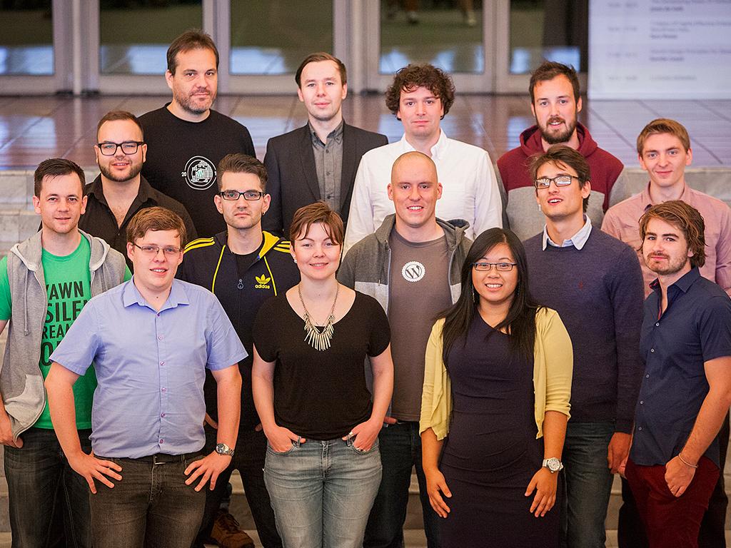 Human Made team photo, 2014.